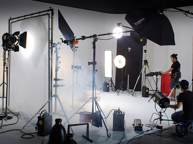 using high tech video equipment helps you create glamorus content.