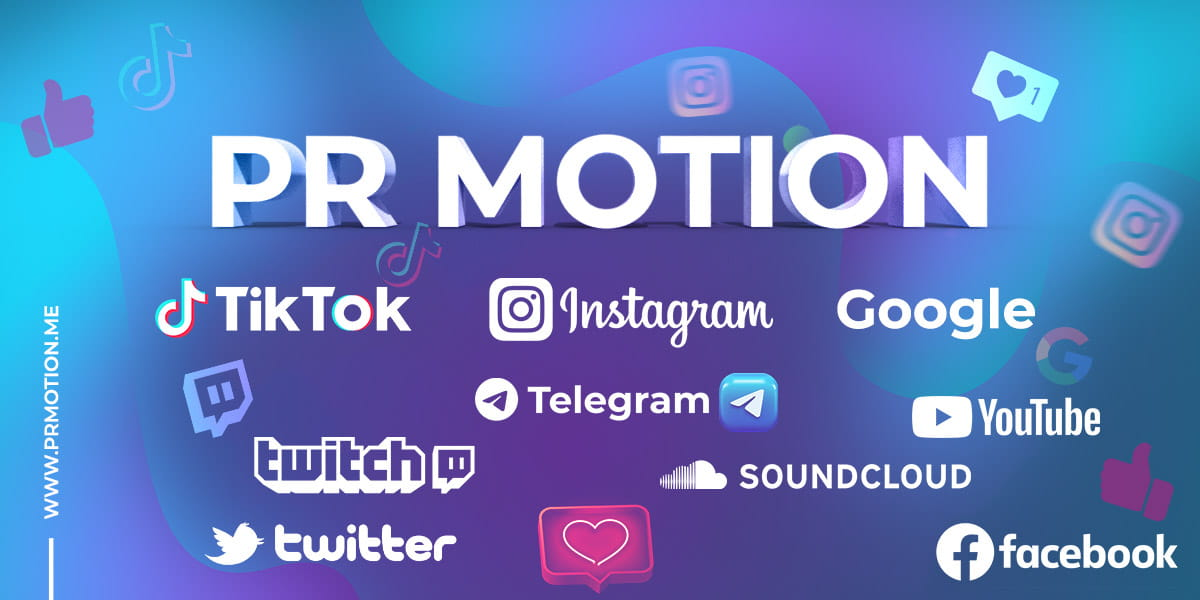 PR Motion services includes Tiktok (views, likes, followers, packages, comments, shares & live stream viewers), Instagram (views, likes, followers, IGTV, Reels, Comments, story views & saves), Google Reviews, YouTube services, Telegram services and many other services on other social media platforms.