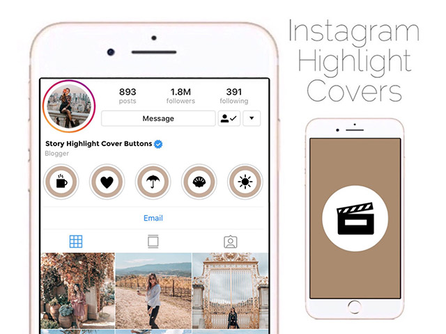 categorize your stories into highlisghts